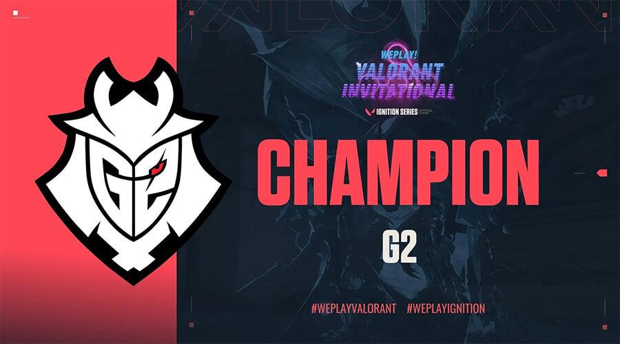 G2 Esports vô địch WePlay! Invitational