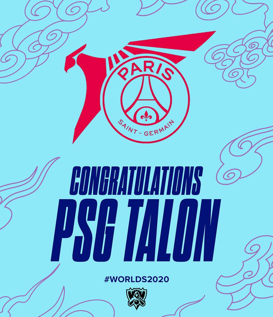 PSG Talon về nhì tại PCS Mùa Hè 2020 và giành vé tham dự vòng khởi động CKTG 2020.