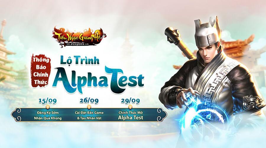 Tiếu Ngạo Giang Hồ giới hạn 1000 tài khoản tham gia Alpha Test