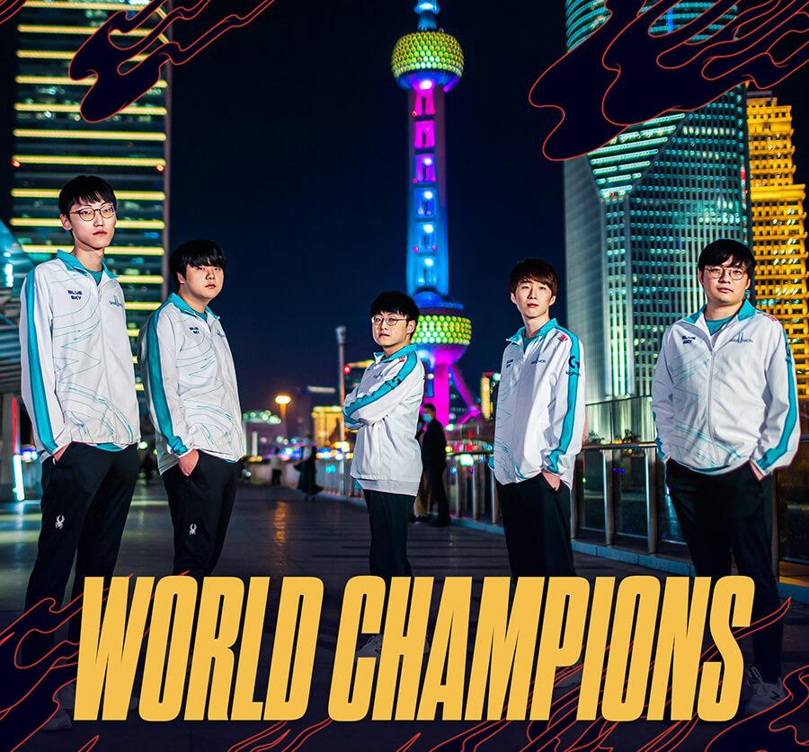DWG là nhà vô địch thế giới 2020.