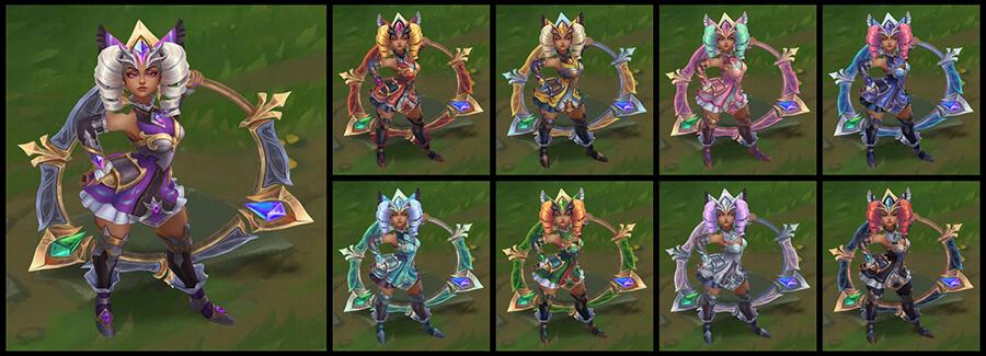 Đa sắc Qiyana Nữ Thần Chiến Binh