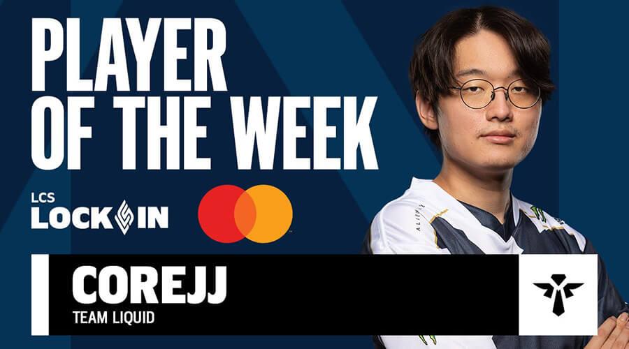 CoreJJ là tuyển thủ xuất sắc nhất tuần thi đấu cuối cùng