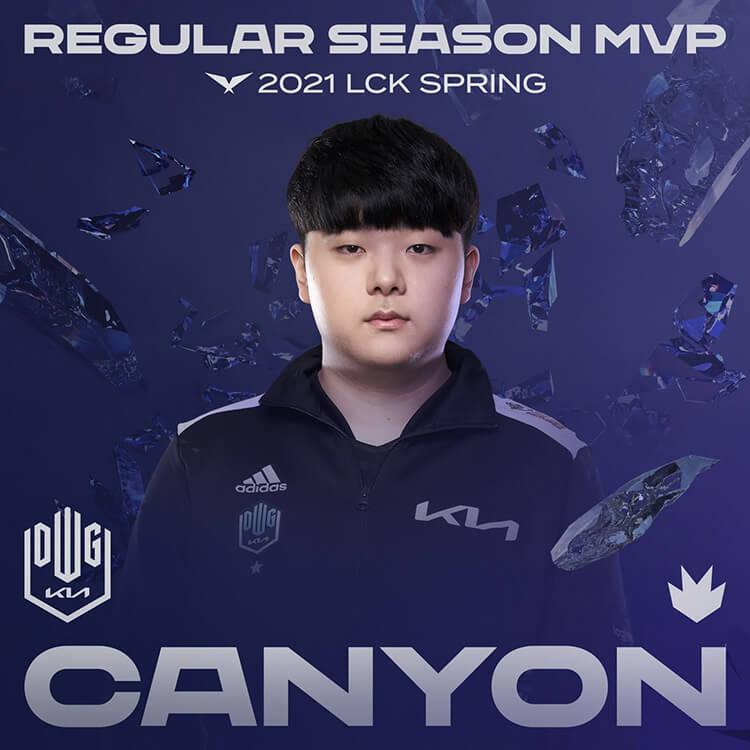DK Canyon là tuyển thủ xuất sắc nhất (MVP) vòng bảng