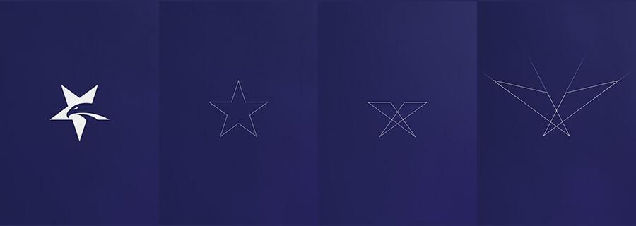 Logo mới được kế thừa trên nền tảng logo cũ
