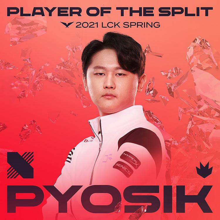 Top 3 tuyển thủ đứng đầu bảng xếp hạng MVP vòng bảng: Pyosik