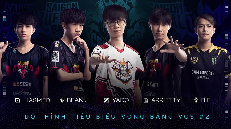 Đội hình tiêu biểu vòng bảng #2