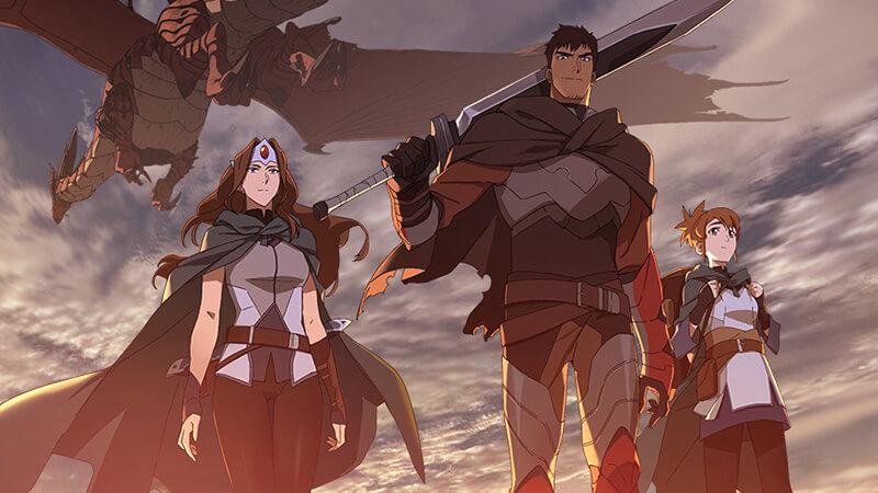 Valve mở rộng vũ trụ Dota với phim hoạt hình Dragon's Blood