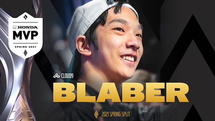 C9 Blaber là tuyển thủ xuất sắc nhất LCS Mùa Xuân 2021