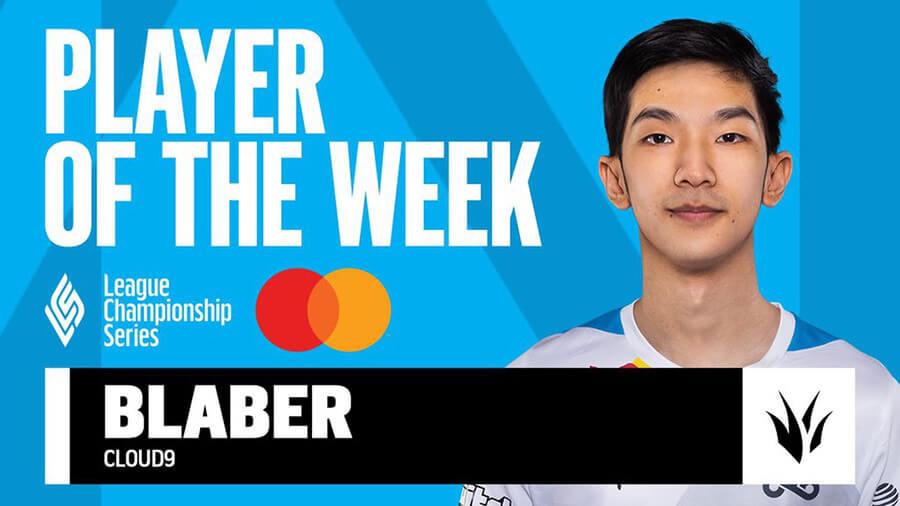 Blaber là tuyển thủ xuất sắc nhất tuần 4