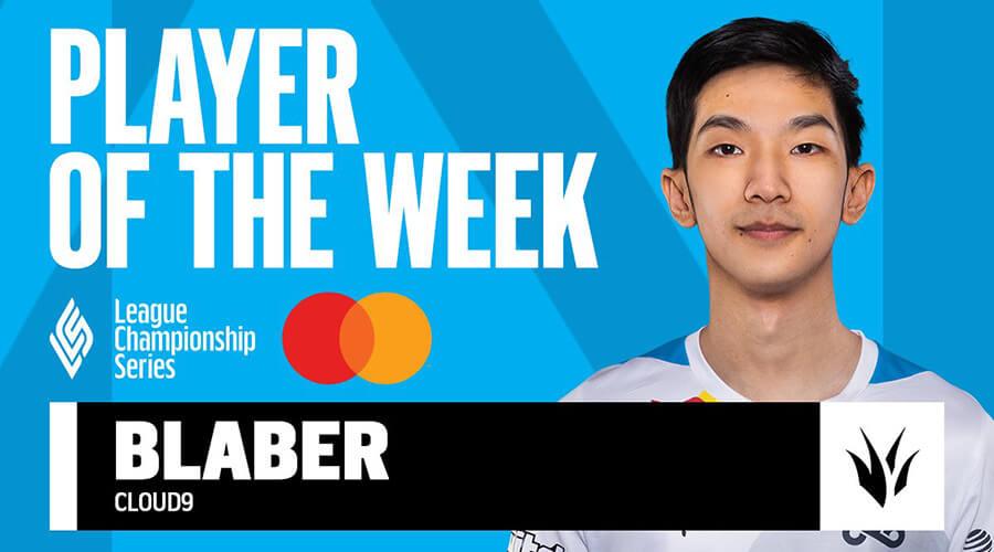 C9 Blaber là tuyển thủ xuất sắc nhất tuần 1