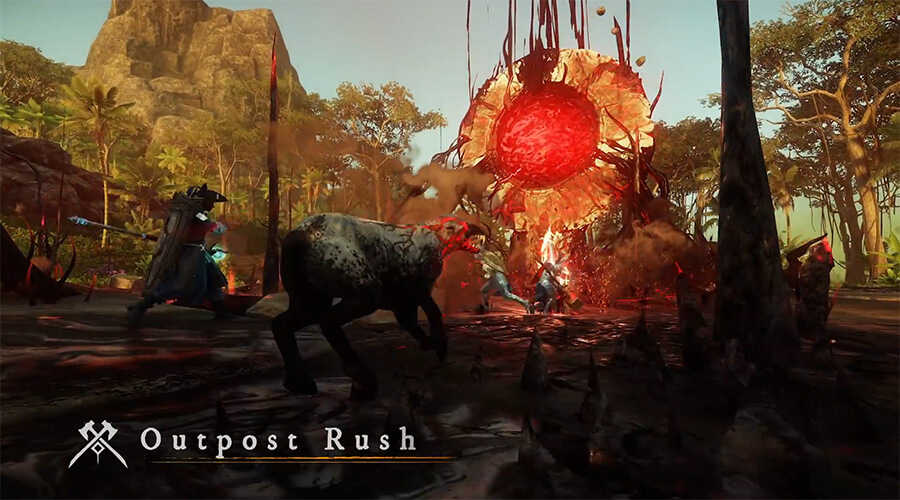 Outpost Rush