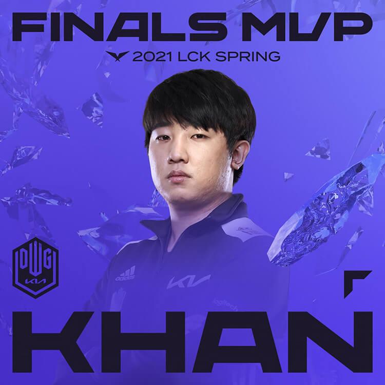 Khan là tuyển thủ xuất sắc nhất trận chung kết