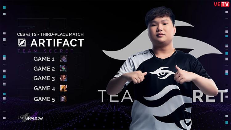 Artifact là MVP trong trận tranh hạng ba