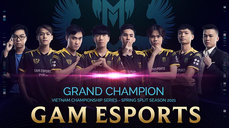 GAM Esports vô địch VCS Mùa Xuân 2021