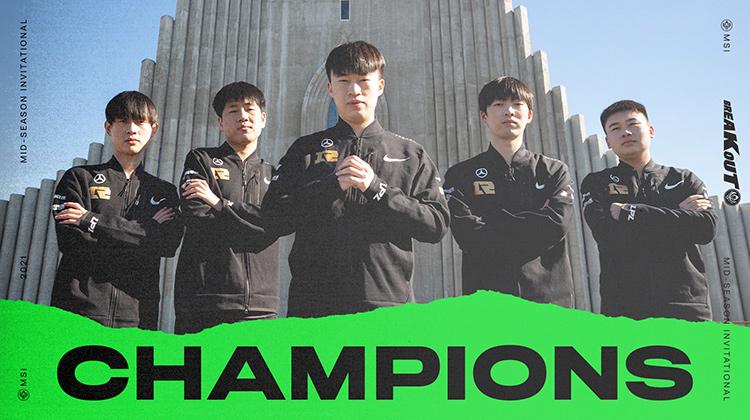 RNG vô địch MSI 2021