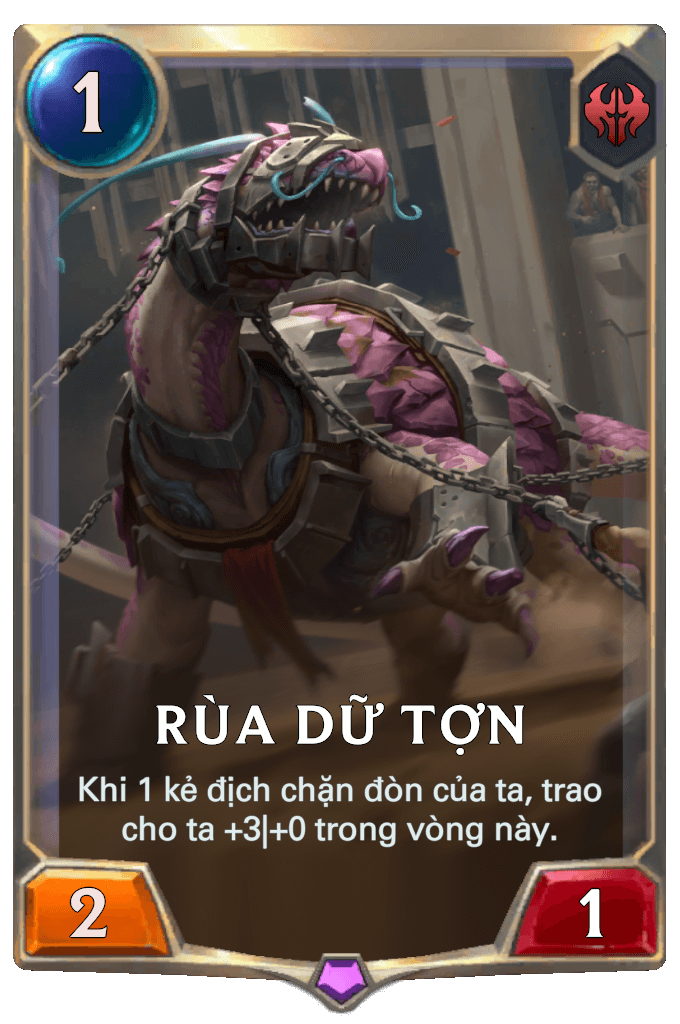 Rùa Dữ Tợn