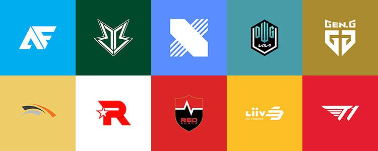 Danh sách 10 đội tuyển tham dự LCK Mùa Hè 2021