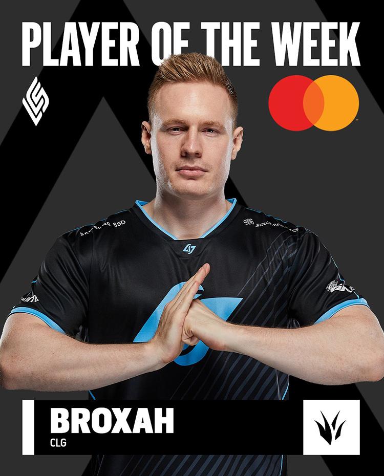 CLG Broxah là tuyển thủ xuất sắc nhất tuần 3