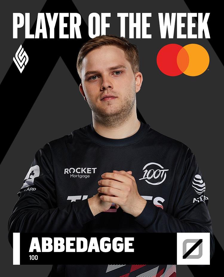 100 Abbedagge là tuyển thủ xuất sắc nhất tuần 2