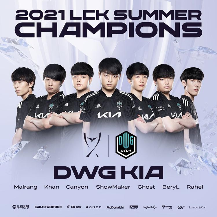 DK vô địch LCK Mùa Hè 2021