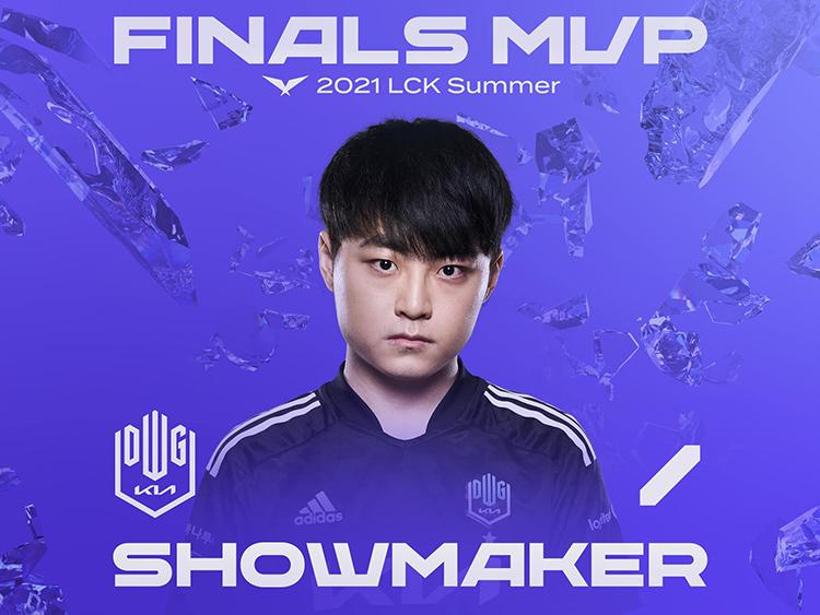 ShowMaker là MVP trận chung kết LCK Mùa Hè 2021.