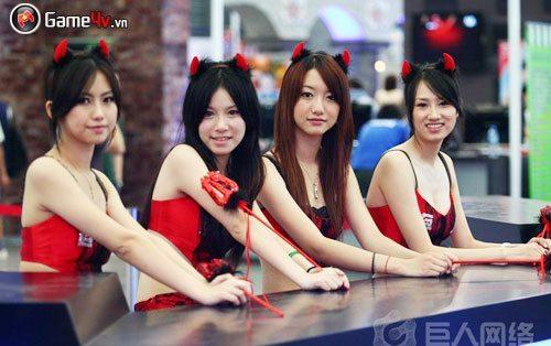 """ChinaJoy 09: """"Đâu đâu cũng toàn là mỹ nữ thượng đẳng"""" 7"""