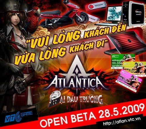 Atlantica Online khai hội Open Beta 1