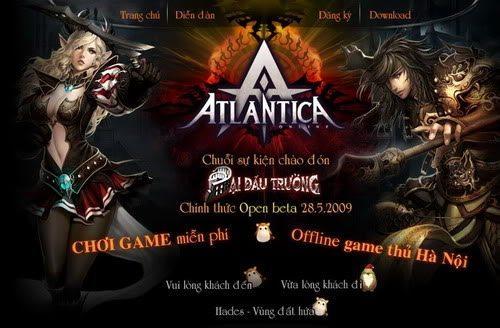 Atlantica Online khai hội Open Beta 2