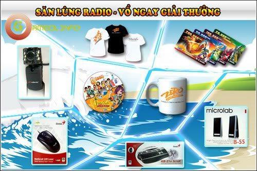 Sắc màu Radio trong các Game Online 7
