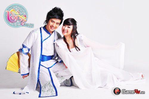 Wanbi Tuấn Anh và Quỳnh Như trở thành đại sứ Cổ Long Online 3