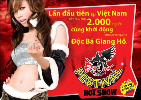 Độc Bá Giang Hồ: Lễ hội hoành tráng 2