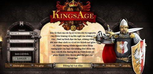 Webgame Kingsage xuất hiện phiên bản Việt hóa 1
