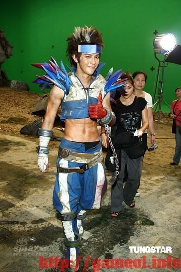S.H.E trong trang trang phục cosplay Dungeon and Fighter 3