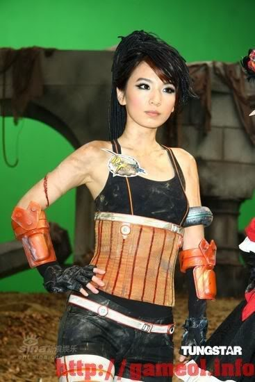 S.H.E trong trang trang phục cosplay Dungeon and Fighter 4