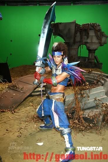 S.H.E trong trang trang phục cosplay Dungeon and Fighter 6